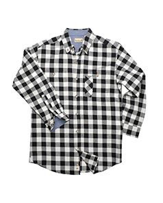 Backpacker Men's Yarn-Dyed Long-Sleeve Brushed Flannel